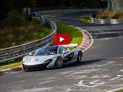 Video: el McLaren P1 baja los 7 segundos en Nürburgring