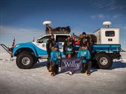 Una Toyota Hilux con tracción 6x6 para atravesar la Antártida