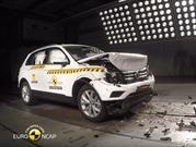 Volkswagen Tiguan 2017 es escogido por Euro NCAP como referente del segmento en seguridad
