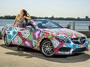 Mara Hoffman combina la ropa con el nuevo Mercedes-Benz Clase E