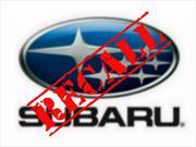 Subaru llama a revisión al WRX y Forester