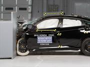 Honda Civic 2016 calificado como Top Safety Pick+ por el IIHS