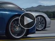 Maria Sharapova y Muhammad Ali protagonizan el nuevo comercial del Porsche 911