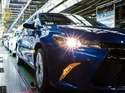Toyota establece récord de producción en Norteamérica durante 2016