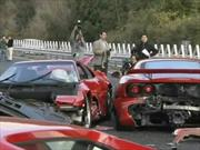Top 10: Los accidentes de autos más ostentosos