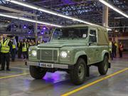 Se construyó la última unidad del Land Rover Defender