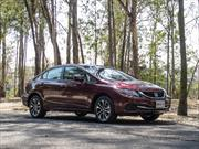 Honda Civic Sedán EXL Navi Automático 2013 a prueba