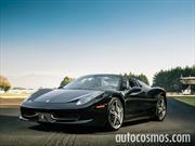 Ferrari 458 Spider a prueba