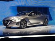 Nissan Vmotion 2.0 Concept, un pantallazo a los futuros sedanes nipones