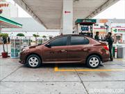 Renault Logan 2015, prueba de consumo en ciudad