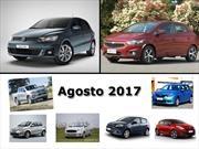 Los 10 autos más vendidos en Argentina en agosto de 2017