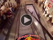 Video: Bicicleta extrema en un shopping de Praga