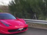 Neymar destruye en accidente su Ferrari 458 Spider