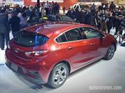 El nuevo Chevrolet Cruze hatchback se presenta en San Pablo
