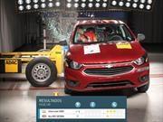 Latin NCAP probó al Chevrolet Onix