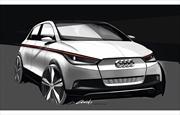 Audi A2 Concept: Primeros bocetos oficiales