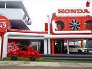 Honda sorprende con una escultura humana en Goodwood