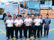 Hino: Team  ganador de su categoría en el Dakar 2013