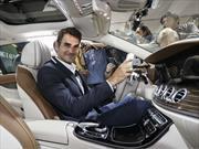 Roger Federer presenta el Mercedes-Benz Clase E Estate