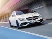 El Mercedes-Benz CLA 2017 recibe lavado de cara