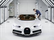 25 curiosidades sobre la producción del Bugatti Chiron