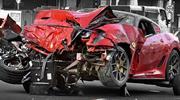 Un Ferrari protagoniza choque mortal en Singapur