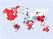 Así se buscan autos en el mundo según Google