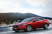 Mazda6 2014 se presenta en el Salón del Automóvil en Moscú