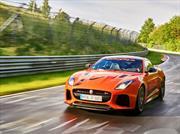"""Jaguar F-Type SVR: descomunal """"gatito"""" en Nürburgring"""