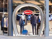 Giorgio Armani presenta su colección inspirada en Bugatti