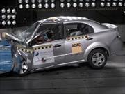 Chevrolet Aveo no obtiene estrellas en las pruebas de choque de Latin NCAP