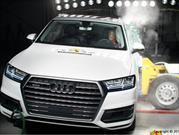 Audi Q7, brillante en la pruebas de la Euro NCAP