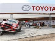 Toyota con simuladores y autos en ExpoAgro 2017