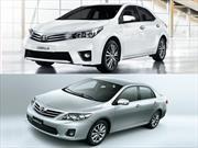 Nuevo Toyota Corolla Vs la generación anterior