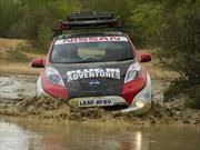 Nissan LEAF participará en el Rally de Mongolia