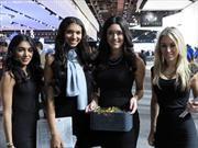 Las chicas del Salón de Detroit 2017