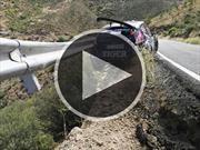 Video: impactante accidente con suerte en el ERC