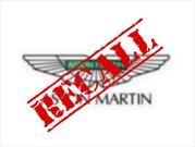 Aston Martin hace recall para 1,600 unidades del Vantage