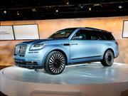 Lincoln Navigator Concept, anticipa el futuro para el SUV de peso completo de la firma
