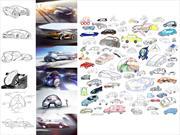 Niños dibujan el auto del 2020
