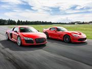 Audi R8 V10 Plus vs SRT Viper GTS