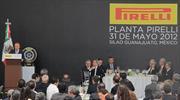 Pirelli inaugura nueva planta en Silao, Guanajuato
