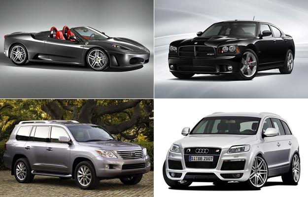 Los autos de Lionel Messi