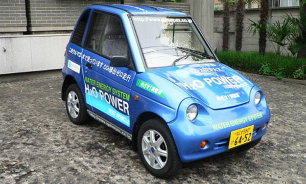 Carros que funcionan con agua