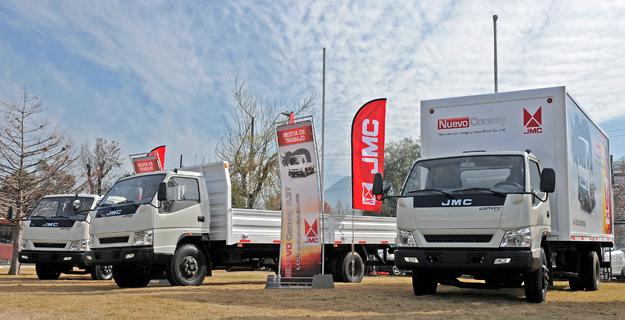 JMC: Estrena en Chile línea de camiones Convey