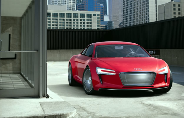El Audi e-tron en Play Station