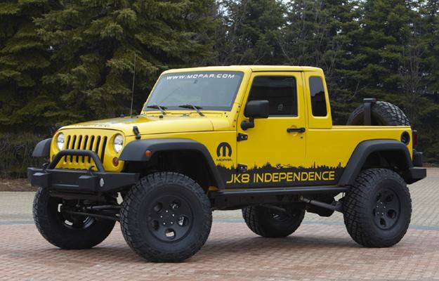Jeep Wrangler Unlimited versión Pick-up ya disponible