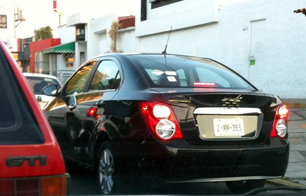 Captamos al Chevrolet Sonic Sedán 2012 en México