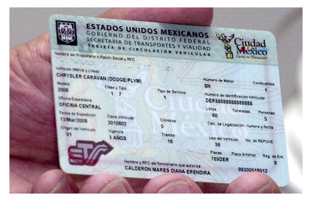 Nueva tarjeta de circulaci&#243;n con chip del DF