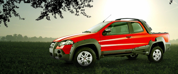Fiat Strada Adventure Doble Cabina arriba a Chile
